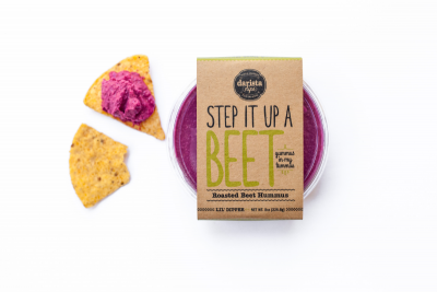 Step It Up A Beet Hummus